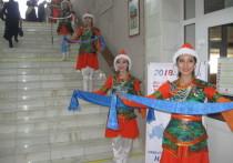 Празднование Сагаалгана прошло на площади имени Ленина в Чите
