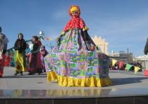 Масленица состоялась на площади Ленина в Чите