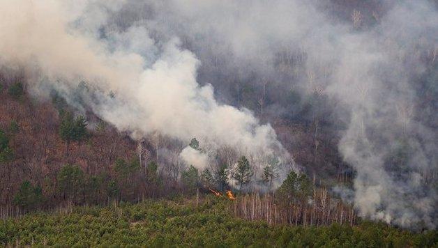 ВЗабайкалье площадь лесных пожаров задень увеличилась вдвое